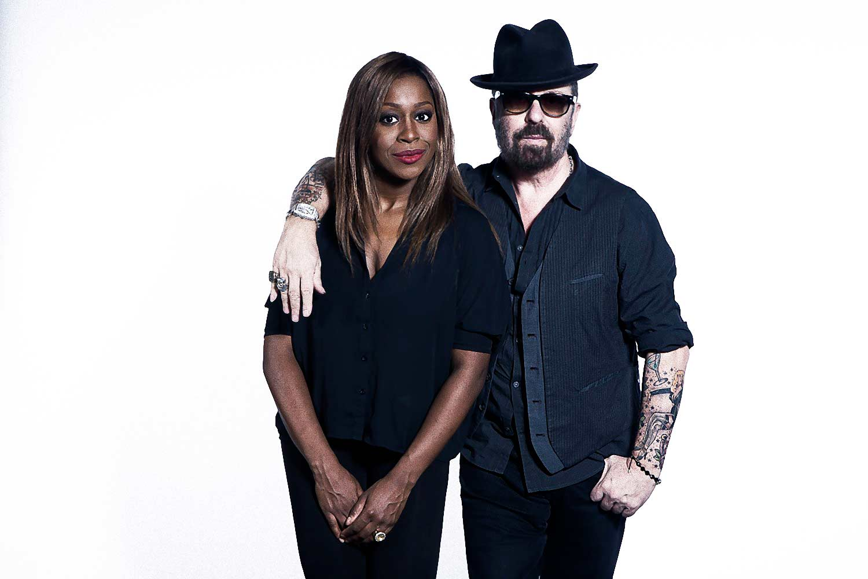 Dave Stewart and Loretta Grace GHOST MUSICAL - Milan, 2013