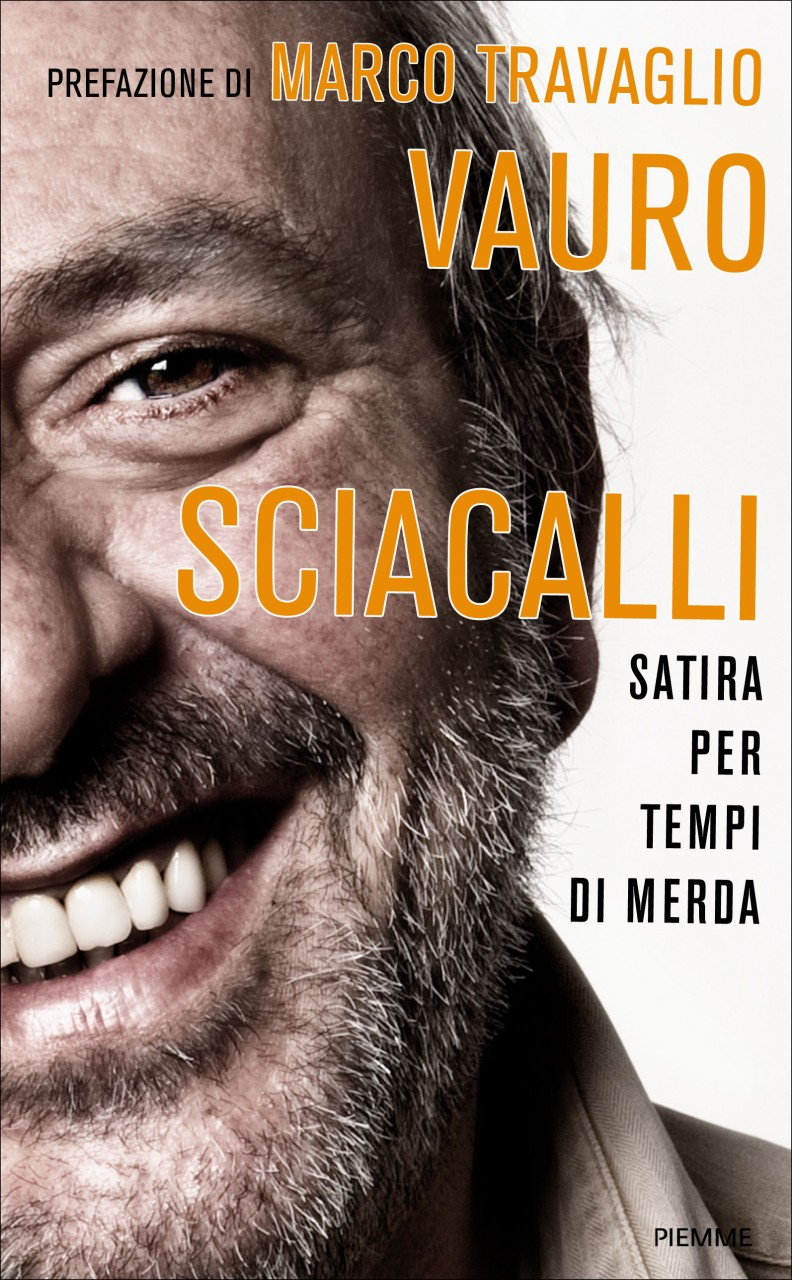 Ed. PIEMME - Vauro Senesi Sciacalli, Book Cover - Rome, 2010
