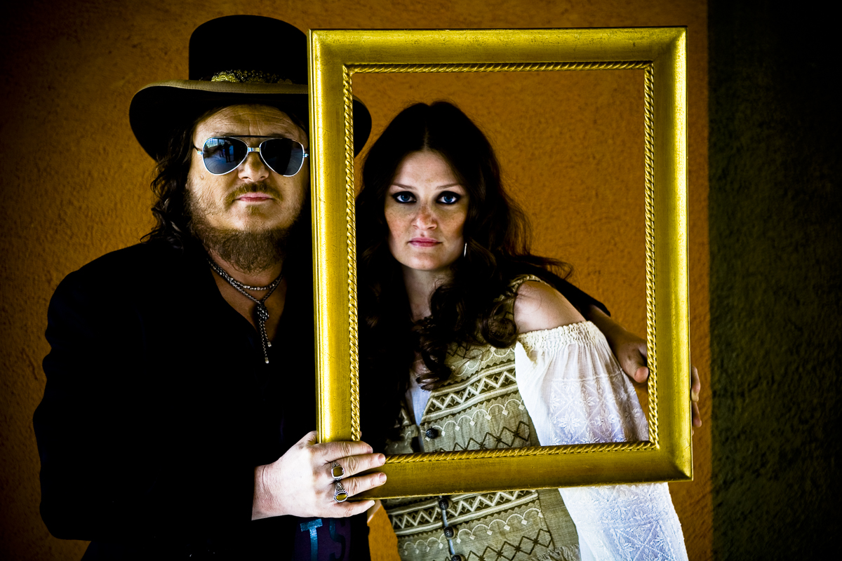 Zucchero Fornaciari with daughter Irene / Vanity Fair