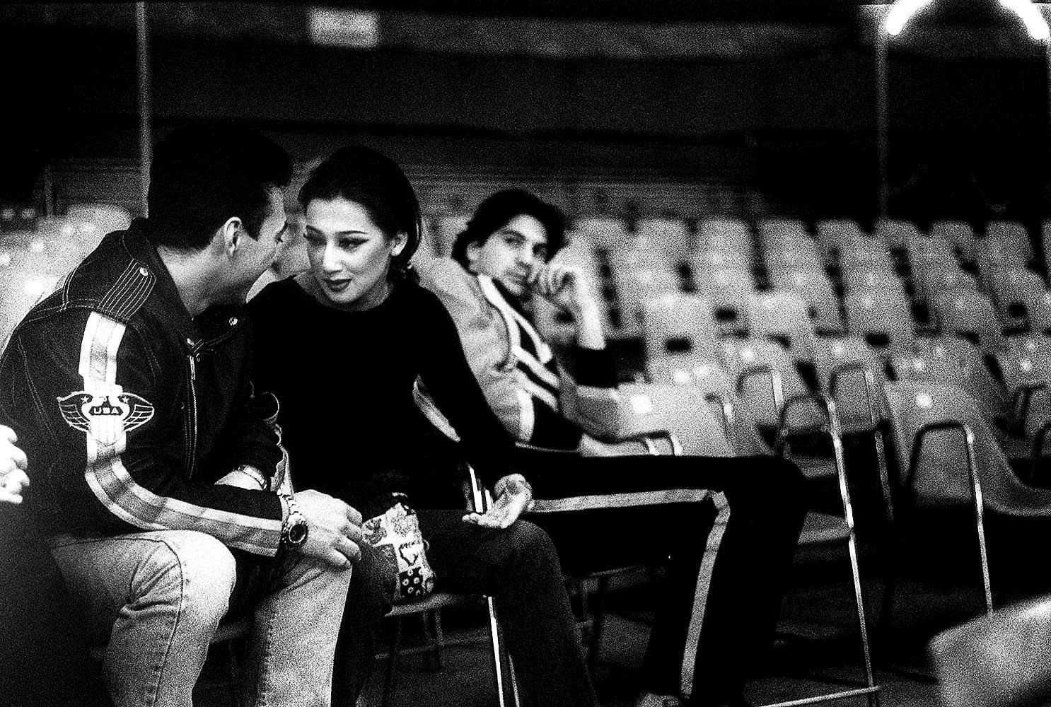 CIRCUS LIFE - Everynight, all around the world - Miguel and Ingrid Around Italy, 1999