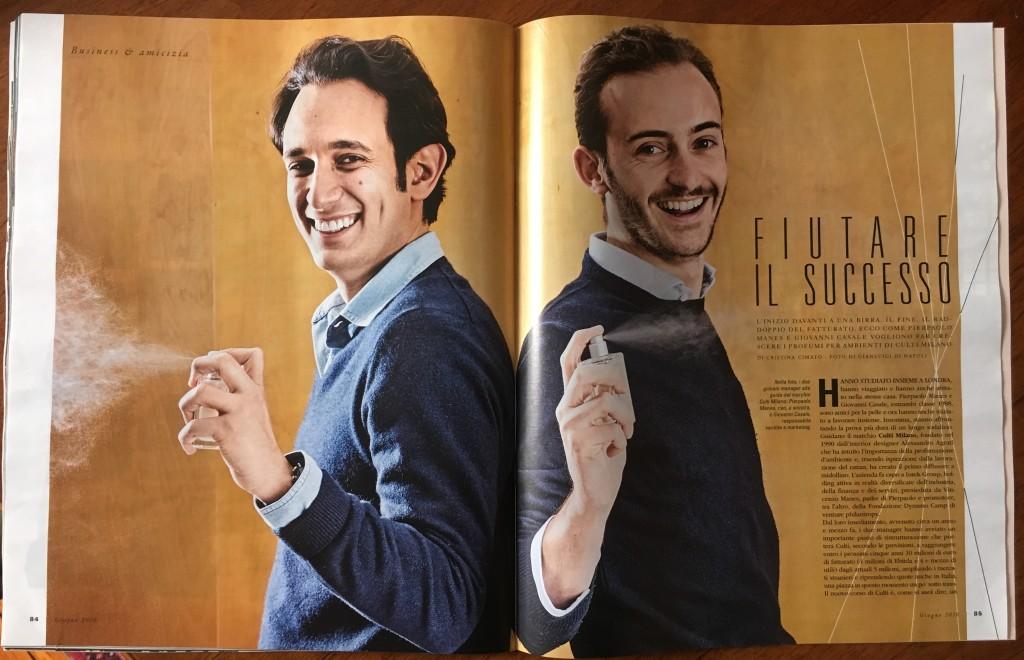 CULTI Pierpaolo Manes e Giovanni Casale per Gentleman Magazine