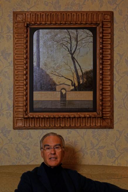 Fabio Castelli, fondatore di Mia Fair nel suo studio